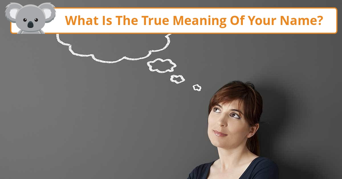 What is the true meaning of your name koala quiz