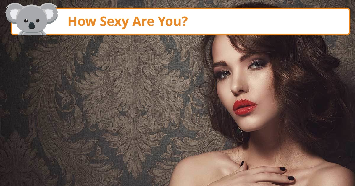 How sexy are you quiz foto 652