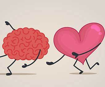 Do You Think With Your Heart or Your Brain?