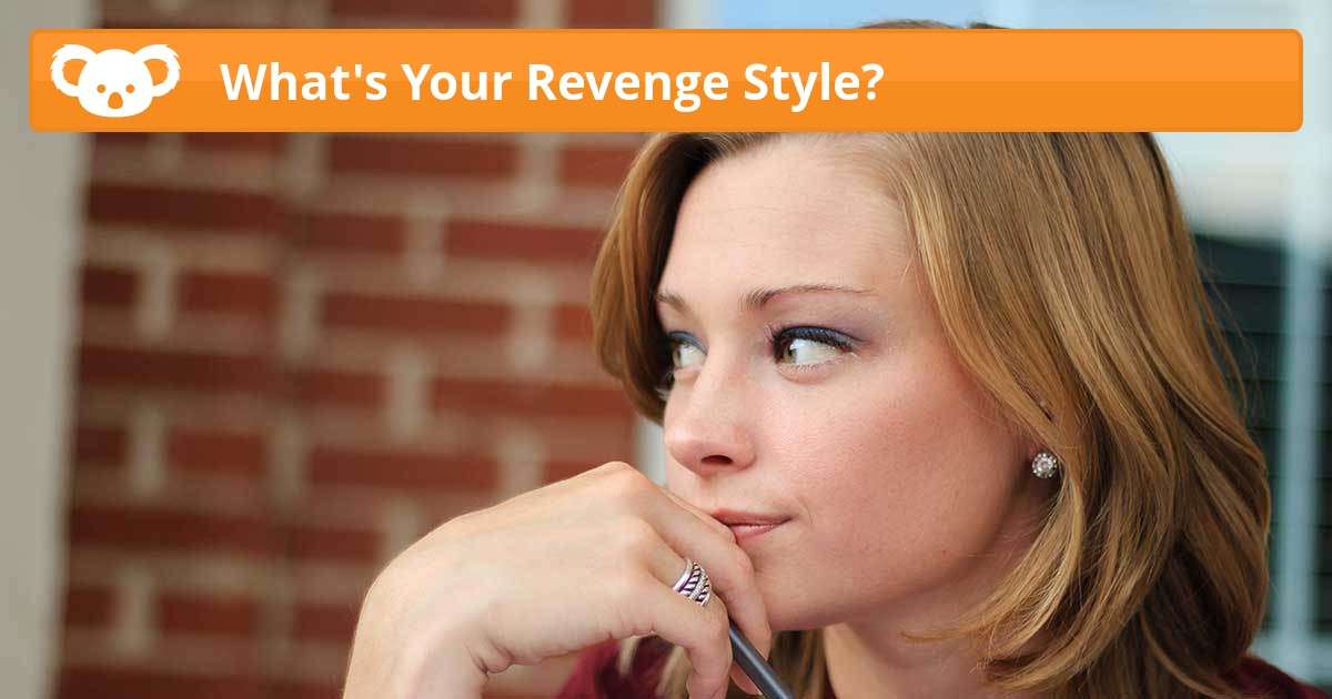 What 39 S Your Revenge Style Koala Quiz