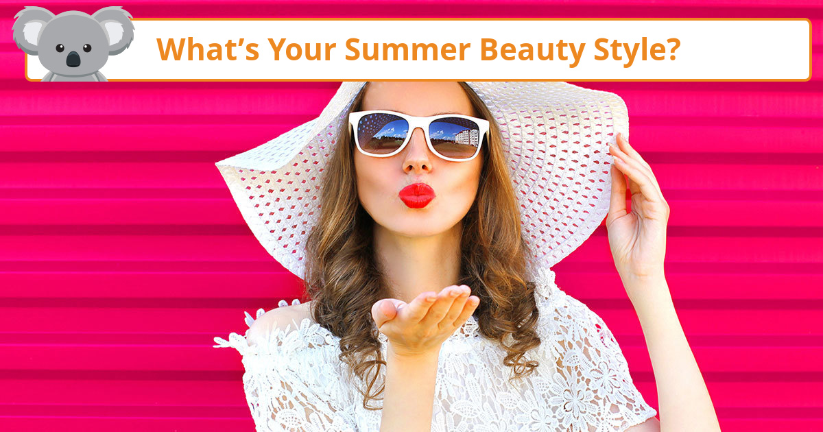 What S Your Summer Beauty Style Koala Quiz